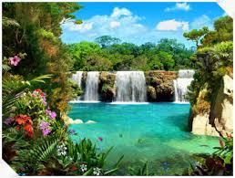موقع تعليم لغات بالصوت والصورة مجانى Living_3D_Waterfalls