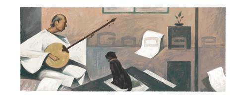الذكرى الـ104 لميلاد حسين بيكار